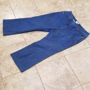 Merona Jeans - Merona Good Condition Stretchy Straight Blue Jeans